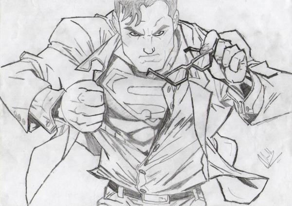 Superman by Vinnysv